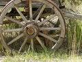 Free Old Wagon Wheel Royalty Free Stock Image - 6651006