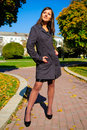 Free Pretty Young Girl In A Autumn Park Royalty Free Stock Photography - 6651057