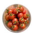 Free Small, Fresh Tomatoes In The Container - Isolated Stock Images - 6656984