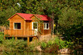 Free Frame Houses In Forest Stock Photo - 6659000