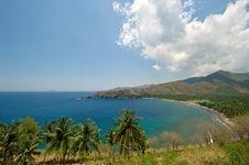 Free Beautiful Lagoon With Palm Trees Stock Photo - 6650090