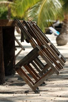 Free Chairs On The Beach Stock Photos - 6650313