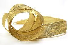 Free Gold Ribbon Stock Photo - 6650510