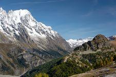 Free Mountain Valley Royalty Free Stock Photos - 6651308