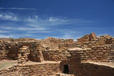 Ruins At Mesa Verde Stock Photos