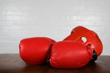 Free Boxing Gear Royalty Free Stock Photography - 6651477