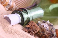 Free Message In A Bottle 2 Stock Images - 6651634