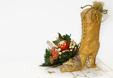 Free Christmas Is Coming To Town With Clipping Path Stock Photos - 6651673