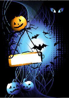 Free Halloween Night Background Stock Photos - 6651963
