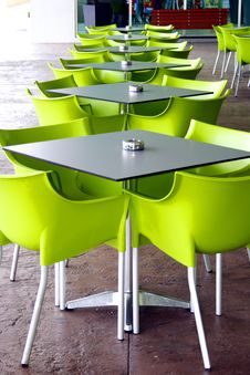 Free Tables And Chairs Royalty Free Stock Image - 6652086