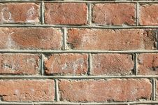 Free Very Old Red Brick Wall. Stock Image - 6652141