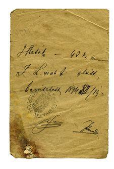 Letter Detail Stock Photo