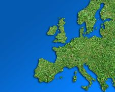 Free Green Europe Royalty Free Stock Photos - 6652938
