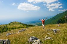 Free Happiness On A Nature Royalty Free Stock Image - 6652946