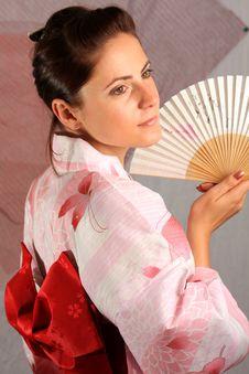 Free Kimono Girl 2 Stock Photos - 6653193