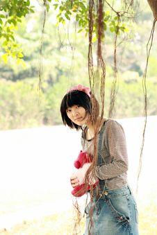 Free Beautiful Student. Royalty Free Stock Photos - 6653908