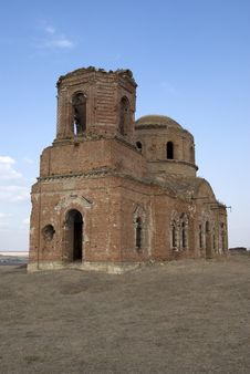 Free Old Church Destroyed. Rostov-on-Don Stock Photos - 6654383