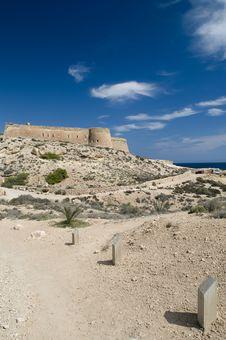 Coastal Fortress Stock Image