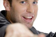 Free Happy Man Looking At Camera Royalty Free Stock Photos - 6655028