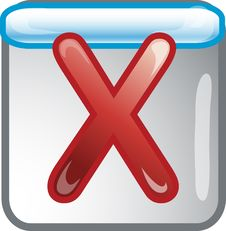 Free Cancel Icon Stock Photography - 6655562