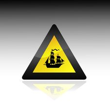 Free Ship Sign Royalty Free Stock Images - 6657469
