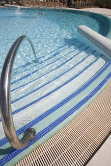 Free Swimming Pool Steps Stock Photos - 6657733
