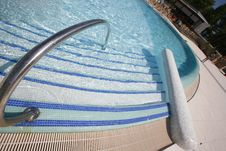 Free Swimming Pool Steps Royalty Free Stock Image - 6657736