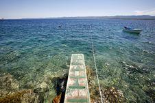 Free Jetty In The Mediterranean Sea Stock Photo - 6657740