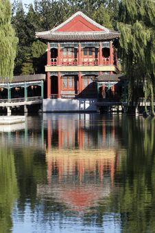 Free China Ancient Garden Scenery Royalty Free Stock Photos - 6657908