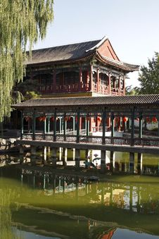 Free China Ancient Garden Scenery Stock Images - 6658284