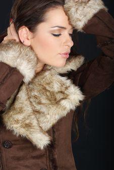 Free Winter Woman Stock Photos - 6658393
