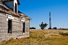 Abandoned House-6298 Royalty Free Stock Images