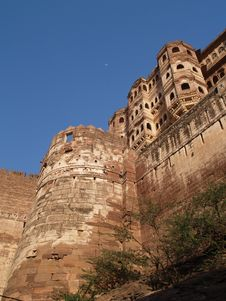 Mehrangarh Fort,Jodhpur Stock Images