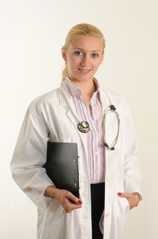 Free Female Doctor Stock Images - 6659104