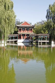Free China Ancient Garden Scenery Royalty Free Stock Photography - 6659557