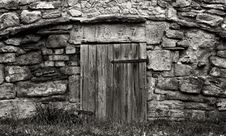 Free Old Door Royalty Free Stock Photography - 6659687