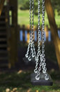 Free Still Swing Detail In A Playground Stock Image - 6660141