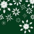 Free Tree Snowflakes Royalty Free Stock Photos - 6661068