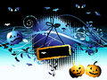 Free Halloween Night Background Stock Image - 6662711
