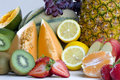 Free A Heap Of Cut Tropical Fruits Stock Images - 6663704