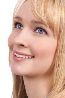 Free Portrait Of Beautiful Blonde Woman Royalty Free Stock Photo - 6660025