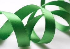 Free Green Ribbon Stock Photo - 6660270