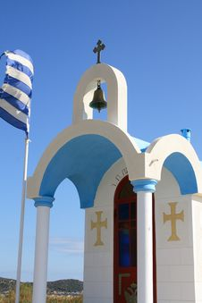 Free Chapel In Greece Stock Images - 6660454