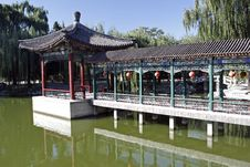 Free China Ancient Garden Scenery Royalty Free Stock Image - 6660496