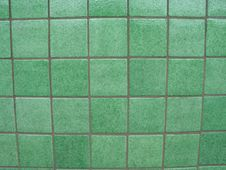 Free Green Tiled Background Royalty Free Stock Photography - 6660577