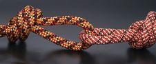Climbing Rope Knots Detail Royalty Free Stock Photo