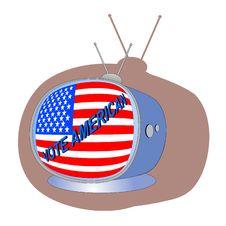 Free Vote American Stock Image - 6661721