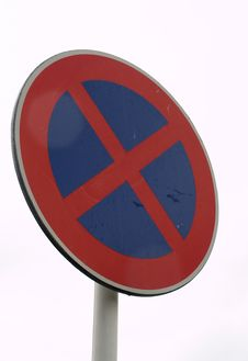 Free No Stopping Sign Stock Image - 6661751