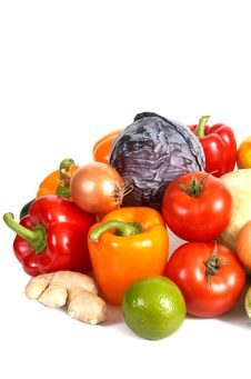 Free Fresh Vegetables 1 Royalty Free Stock Photo - 6662215