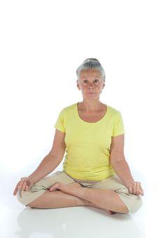 Free Yoga Lady Stock Photography - 6662272